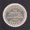 O.J. Berlin Siegelmarke / Verschlussmarke...