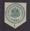 O.J. Pirna Siegelmarke / Verschlussmarke ...