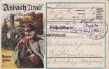 1918 Rüdesheim/Rhein Ansichtskarte / Post...
