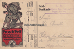 1916 Deutsches Reich Ansichtskarte / Post...