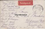 1917 Deutsches Reich Fotokarte mit Feldpo...