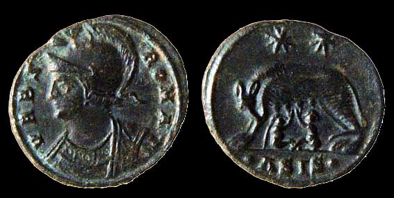 Kelin Follis 334 335 Rom Vrbs Roma Siscia She Wolf With Remus And