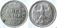 3 Reichsmark 1924 D ALLEMAGNE Weimarer Rep...