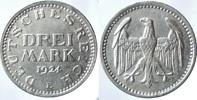 3 Reichsmark 1924 E ALLEMAGNE Weimarer Rep...