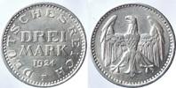 3 Reichsmark 1924 F ALLEMAGNE Weimarer Rep...