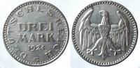 3 Reichsmark 1924 G ALLEMAGNE Weimarer Rep...