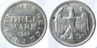 3 Reichsmark 1924 J ALLEMAGNE Weimarer Rep...