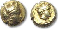 EL Hekte 412-378 B.C ANCIENT GREECE Lesbos...