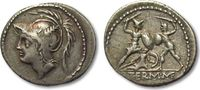 AR denarius 103 B.C. ROMAN REPUBLIC Q. Min...