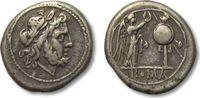 AR victoriatus 211-208 B.C ROMAN REPUBLIC ...
