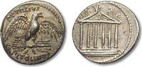AR Denarius 43 B.C. ROMAN REPUBLIC Petilli...