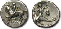 AR didrachm 275-240 B.C ANCIENT GREECE Cal...