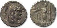 AR Denarius 81 B.C. ROMAN REPUBLIC A. Post...
