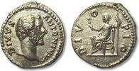 AR Denarius 162 A.D. ROMAN EMPIRE DIVUS An...