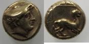 Elektron/Hekte 377-326 BC Lesbos,Mytilene Lesbos Mytilene vf