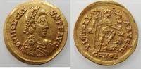 AV.solidus 404-416 AD Romeinse Rijk Honori...