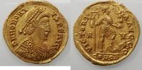 Av.solidus 402-406 AD. Romeinse Rijk Honor...