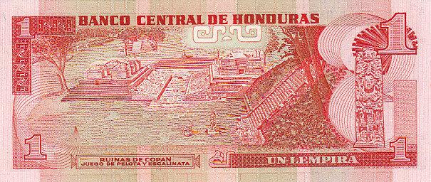 1 Lempiras 1994 Honduras HONDURAS P.76a - 1994 UNC UNC