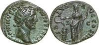 Æ Dupondius 117 - 138 AD Imperial ANTONINUS PIUS, Rome/SALUS vz-  340,00 EUR free shipping