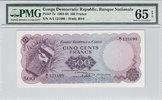 500 Francs 1961 Congo Dem Rep. CONGO DEM. REP. P.7a -  1961 PMG 65 EPQ ... 500,00 EUR free shipping