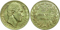 20 Francs 1865  BELGIUM, Leopold I 1865 GOLD   320,00 EUR free shipping