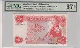 10 Rupees  Mauritius MAURITIUS P.31c -  ND1967 PMG 67 EPQ PMG Graded 67... 100,00 EUR  +  12,00 EUR shipping