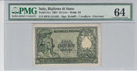 50 Lire 1951 Italy ITALY P.91a -  1951 PMG 64 PMG Graded 64 GEM UNCIRCU... 100,00 EUR  +  12,00 EUR shipping