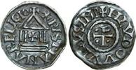 840 Denar 822 - 840 n Carolingian CAROLING...
