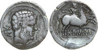 AR Denarius 150 - 100 B Spain, Gaul and Br...