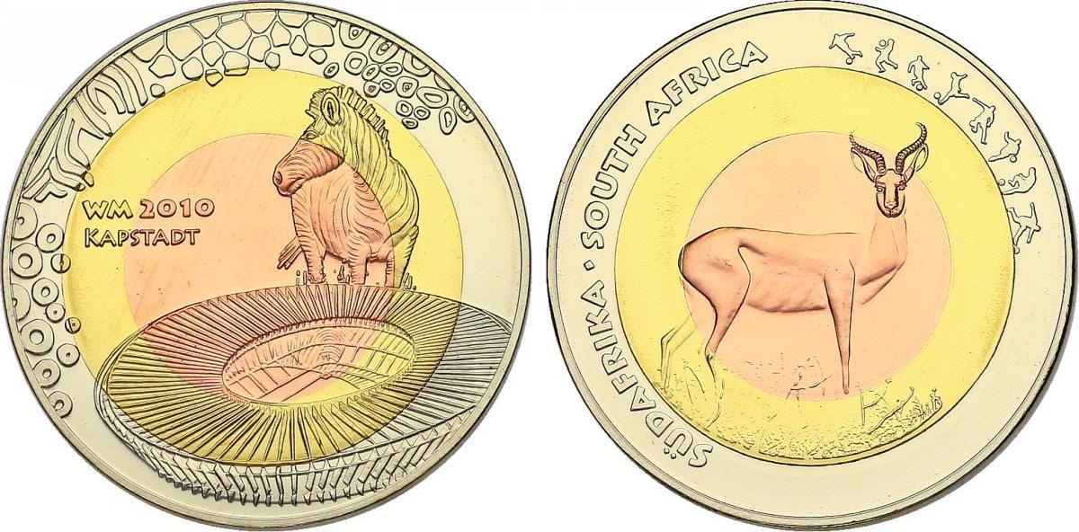 Medaille 2009 Südafrika Serie \