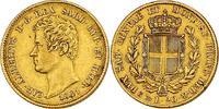 20 Lire 1841 P (Ank Italien - Sardinien Ka...