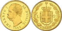 20 Lire 1882 R Italien Umberto I. (1878 - ...