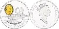 "20 Dollar 1993 Kanada Serie ""Luftfahr..."
