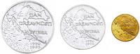 1000 Kuna (Au) 200 + 100 Kuna (Ag) 1995 Kr...