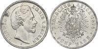 Deutschland - Bayern 5 Mark Ludwig II. (1864 -1886)