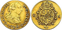 Spanien 1/2 Escudo Karl III. (1759 - 1788)