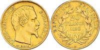 20 Francs 1852 A Frankreich Napoleon III. ...