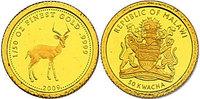 "50 Kwacha 2009 Malawi ""Springbock&quo..."