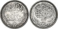 20 Piaster 1916 Ägypten Hussein Kamil (191...