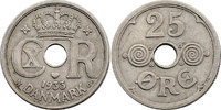 25 Öre 1933 Dänemark Christian X. (1912 - ...