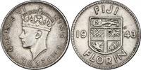 Florin 1943 Fiji Georg VI. (1936 - 1952) v...