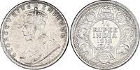 1/4 Rupie 1918 Calcut Indien Georg VI. (19...