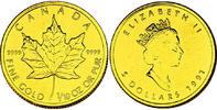 """5 Dollar 1991 Kanada """"Maple Leaf"""" unc.  145,00 EUR  +  9,90 EUR shipping"""