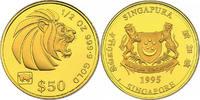 50 Dollar (1/2 oz) 1995 Singapur Löwenkopf (mit Lunar Privy 'Jahr des S... 750,00 EUR  +  9,90 EUR shipping