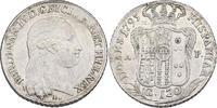 Piaster zu 120 Grana 1795 P/M, A Italien -...