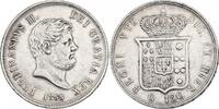 Piaster zu 120 Grana 1855 Italien - Neapel...