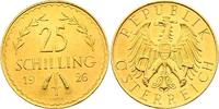 Österreich - I. Republik  25 Schilling 1926 f.stgl