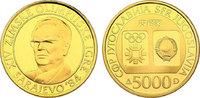 5000 Dinar 1983 Jugoslawien Olympische Spi...