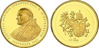 "Au-Medaille 1983 Vatikan ""Papst Johan..."