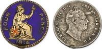 4 Pence 1836 Grossbritannien William IV. (...